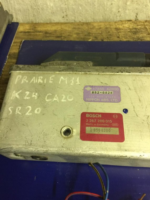 Блок управления abs Nissan Prairie NM11 KA24