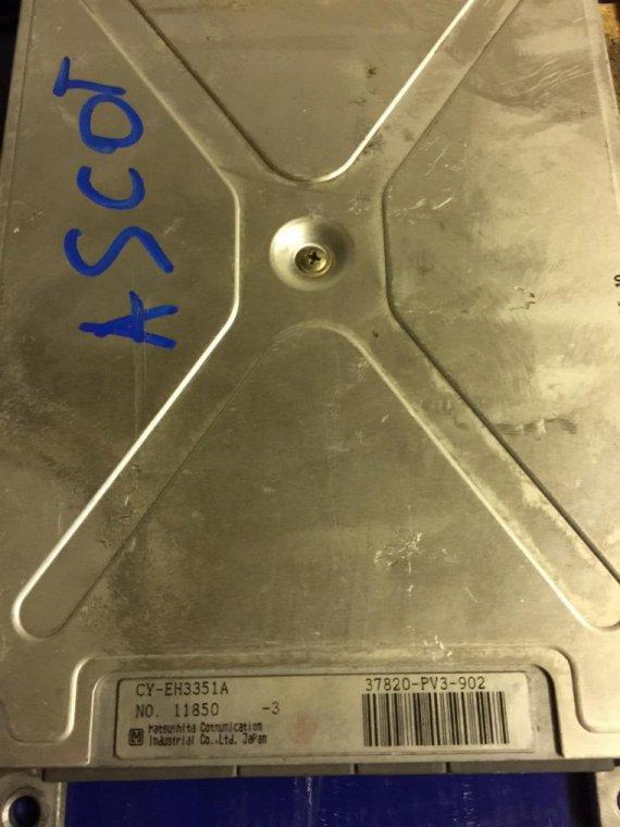 Блок управления двигателем Honda Ascot CE G20A