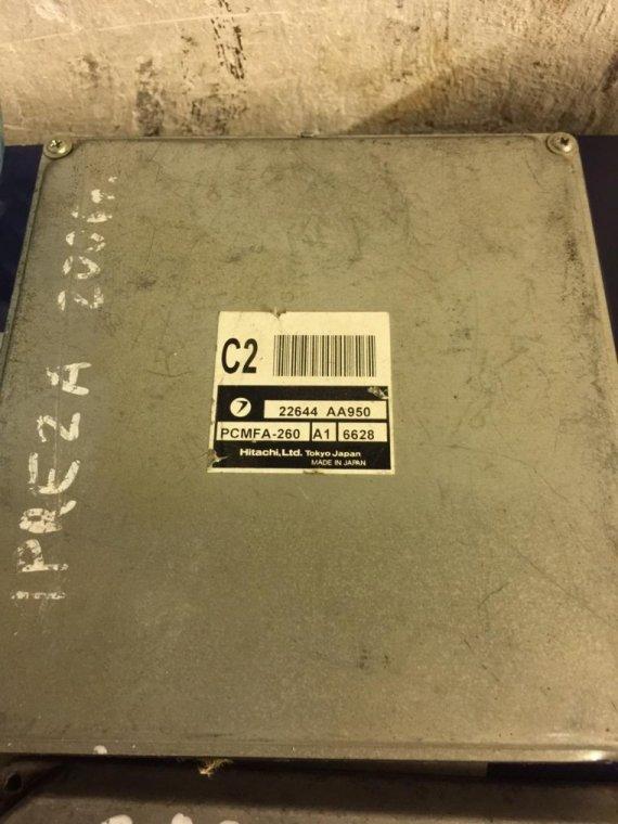 Блок управления двигателем Subaru Impreza GG GD EJ15
