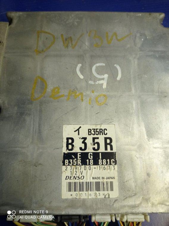 Блок управления двигателем Mazda Demio