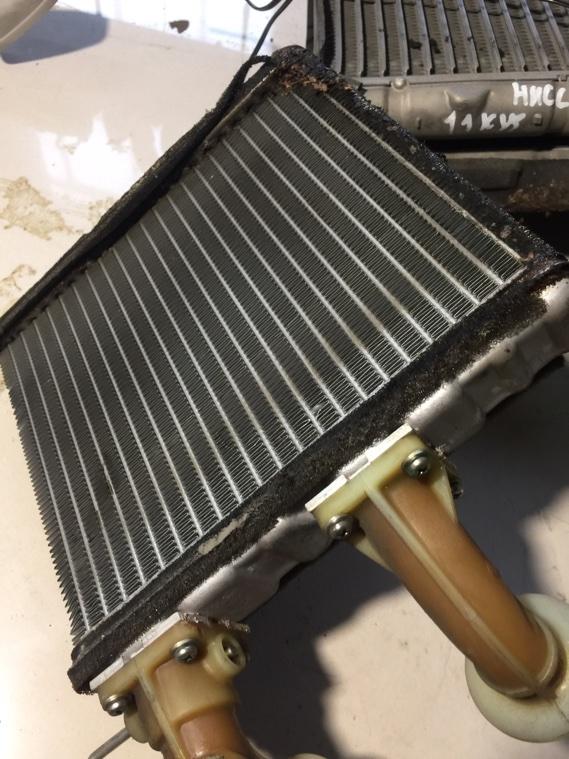 Радиатор печки Nissan Primera WHP11 SR20DE 1997