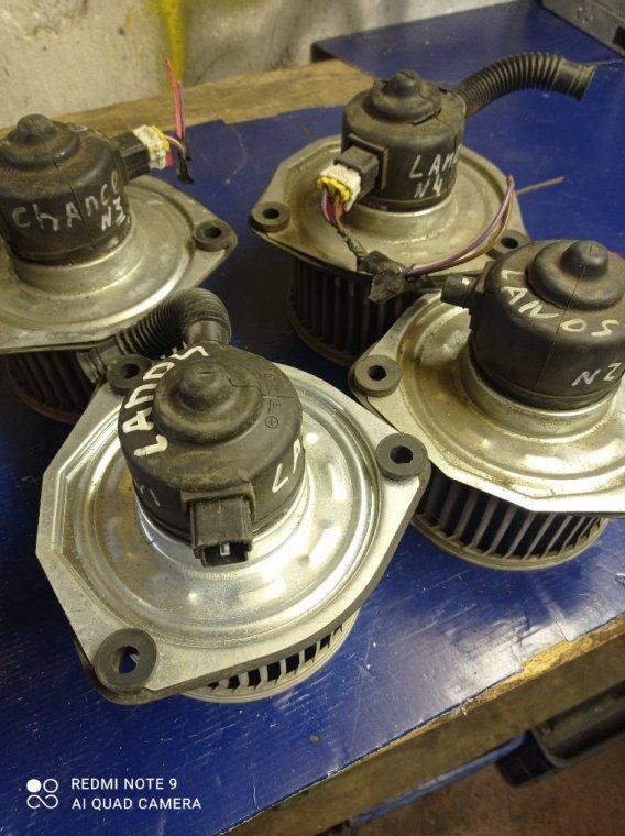 Мотор печки Chevrolet Lanos T100
