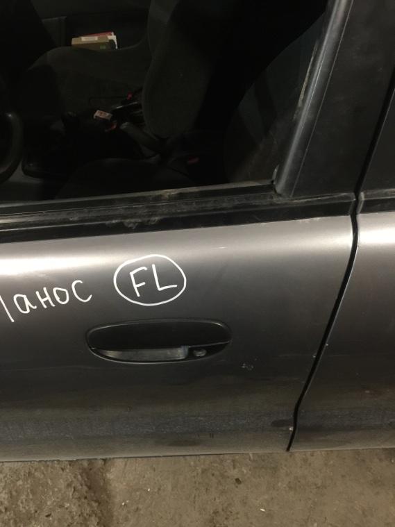 Дверь Chevrolet Lanos T100 A15SMS передняя левая