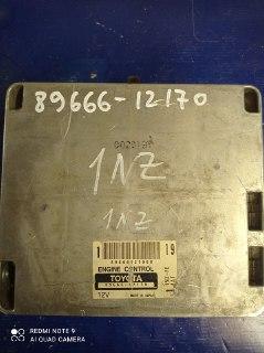 Блок управления двигателем Toyota Allex NZE121 1NZFE