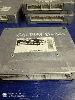 Блок управления двигателем Toyota Caldina ST210 3SFE