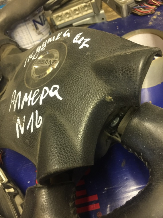 Подушка безопасности Nissan Almera N16 QG15DE 2000