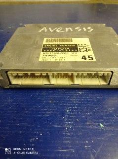 Блок управления двигателем Toyota Avensis ZZT220 3ZZFE