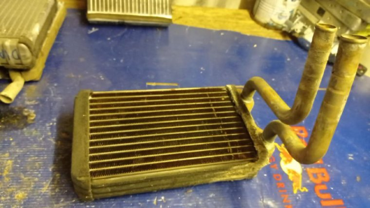 Радиатор печки Honda Domani MB4 D16A
