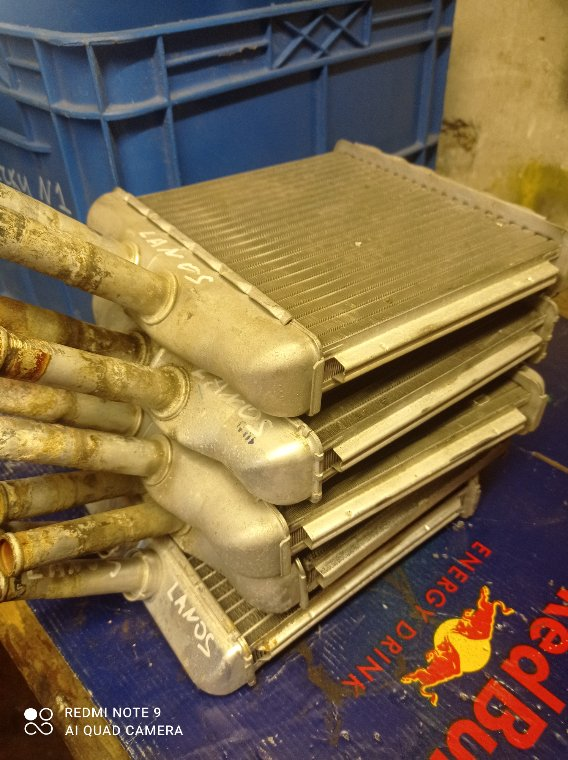 Радиатор печки Chevrolet Lanos