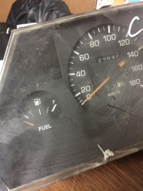 Панель приборов Toyota Corolla Ii EL30 2E 1986