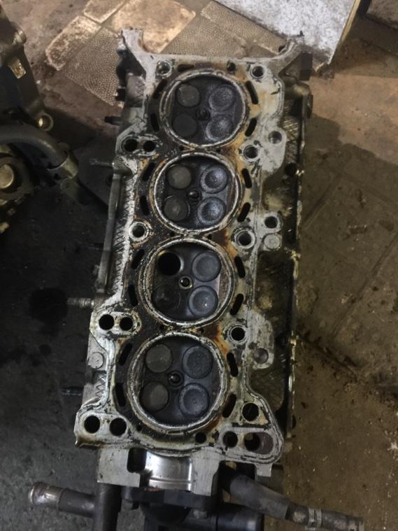 Головка блока цилиндров Mazda Demio ZJ