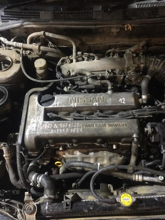 Двигатель Nissan Primera WHP11 SR20DE 1997
