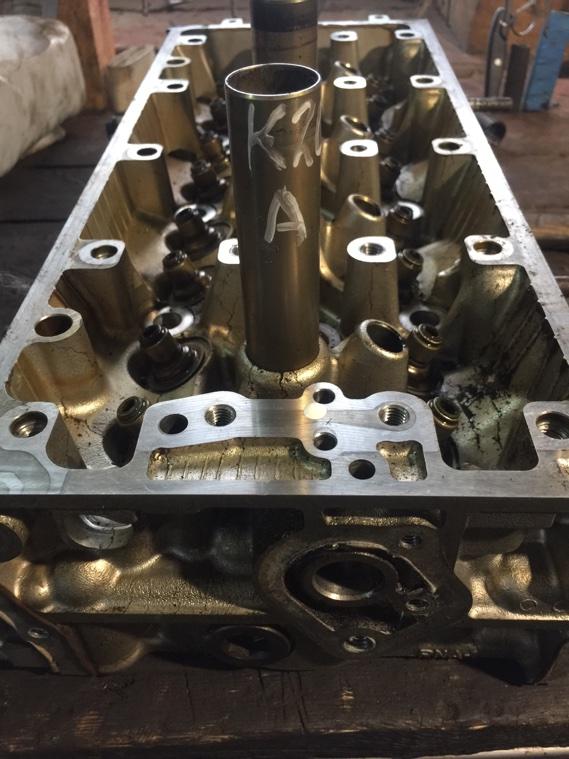 Головка блока цилиндров Honda K20A