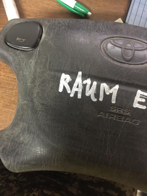 Подушка безопасности Toyota Raum EXZ10 5E-FE передняя