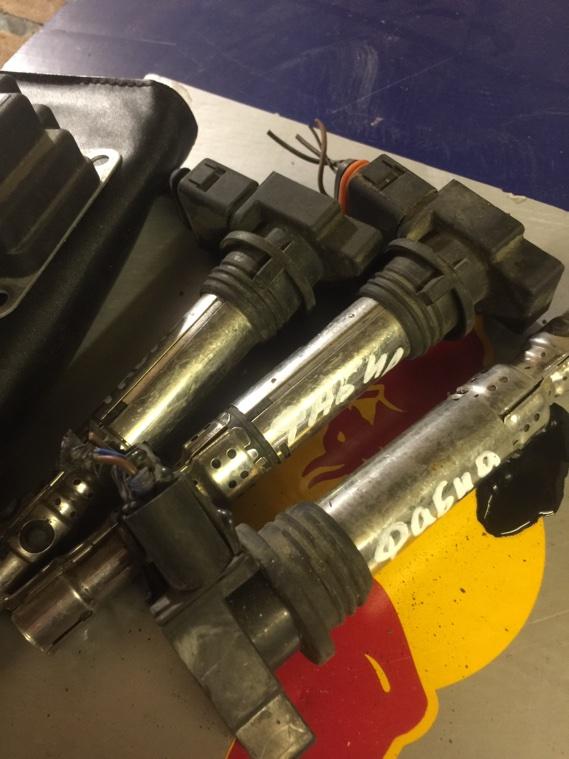 Катушка зажигания Skoda Fabia 5J V3