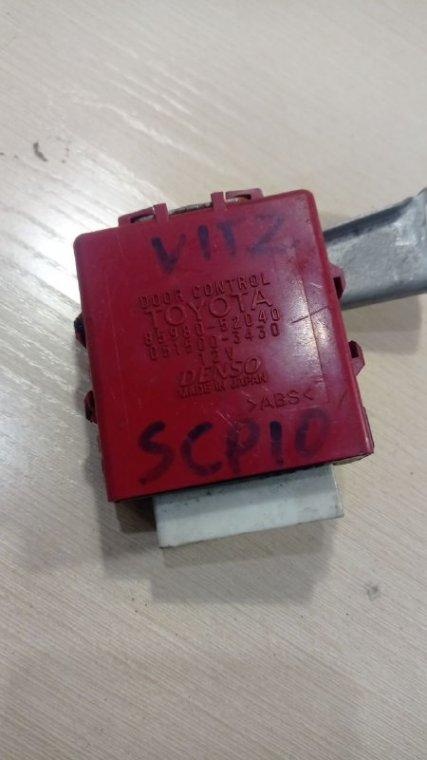 Блок управления дверьми Toyota Vitz SCP10 1SZFE