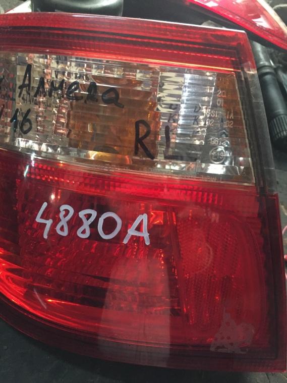 Стоп-сигнал Nissan Almera Bluebird Sylphy N16 QG10 QG15DE задний левый
