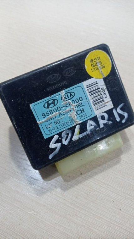Блок управления светом Hyundai Solaris