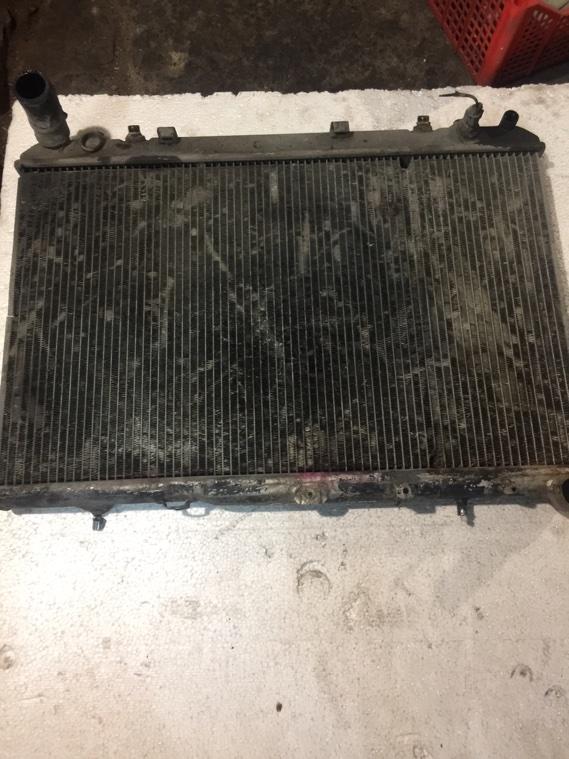 Радиатор охлаждения двигателя Ssangyong Korando KJ OM661 1996