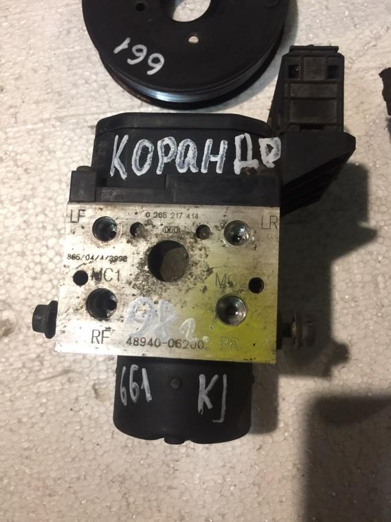 Блок управления abs Ssangyong Korando KJ OM661 1996