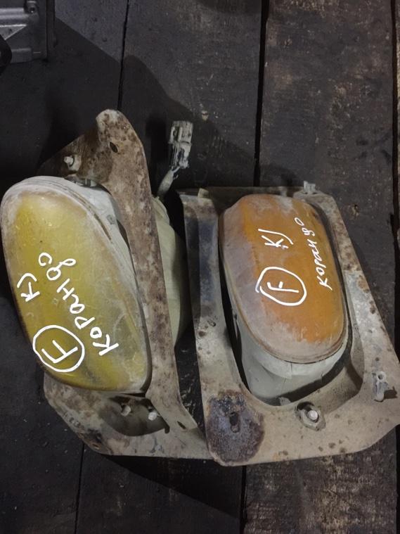 Фара противотуманная Ssangyong Korando KJ OM661 1996 левая