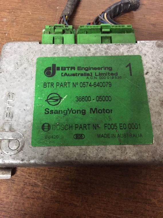 Блок управления двигателем Ssangyong Korando KJ OM661 1996
