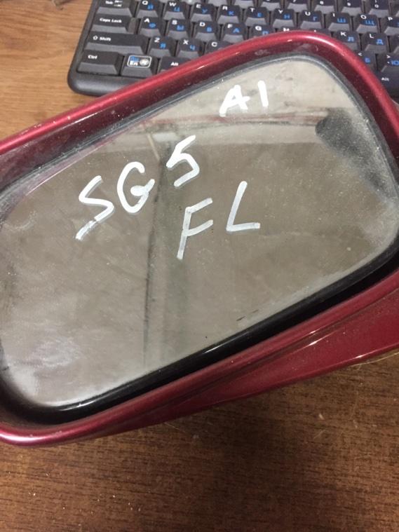 Зеркало боковое Subaru Forester SG5 EJ205T 2002 переднее левое