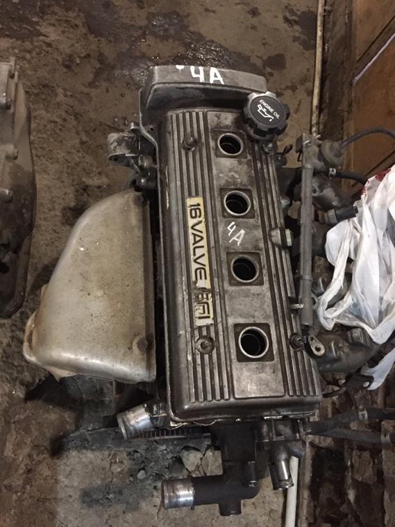Двигатель Toyota Corona AT190 4AFE 1993