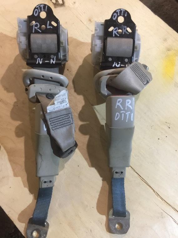 Ремень безопасности Nissan Otti H92W 3G83 2008 задний правый
