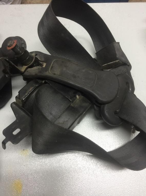 Ремень безопасности Ssangyong Korando KJ OM661 1996 задний левый