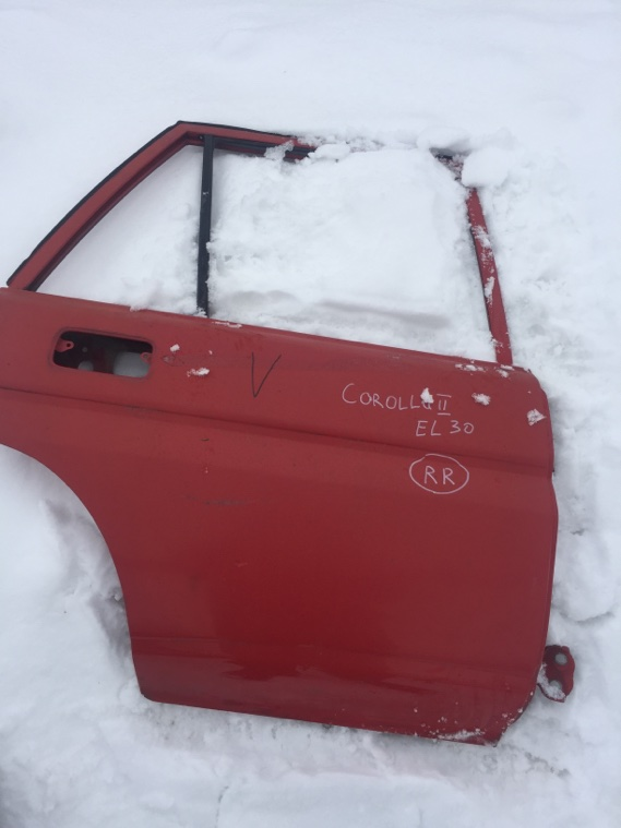 Дверь Toyota Corolla Ii EL30 2E 1986 задняя правая