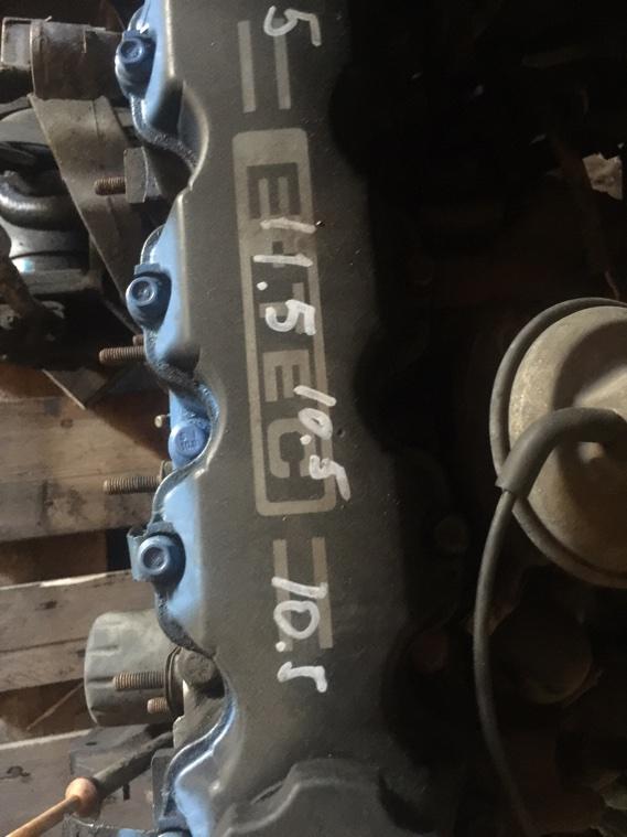 Головка блока цилиндров Chevrolet Lanos T100 A15SMS 2010