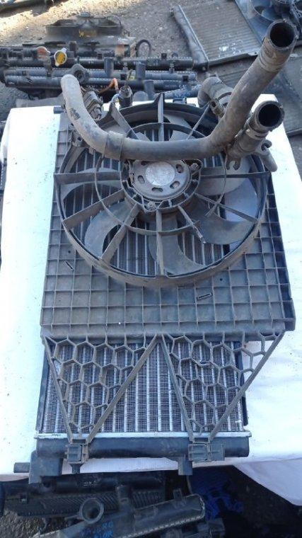 Диффузор радиатора Skoda Fabia