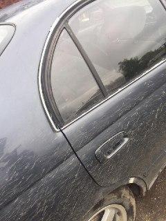 Стекло двери Toyota Corona CT190 2C 1993 заднее правое