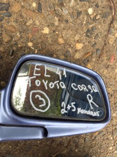 Зеркало боковое Toyota Corsa EL41 4EFE 1991 правое