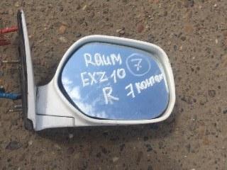 Зеркало боковое Toyota Raum EXZ10 5E-FE правое