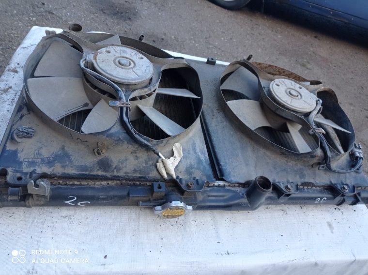 Радиатор охлаждения двигателя Toyota Caldina CT198V 2C
