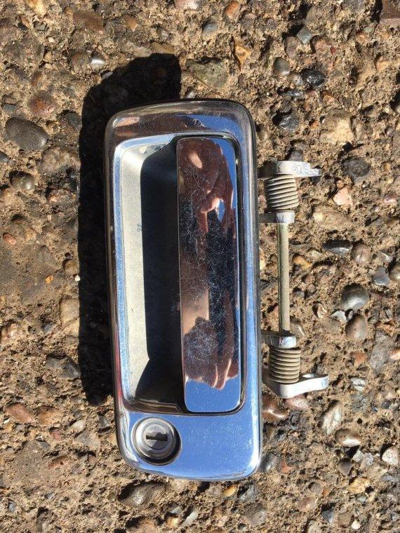 Ручка двери внешняя Toyota Mark Ii SX80 передняя правая