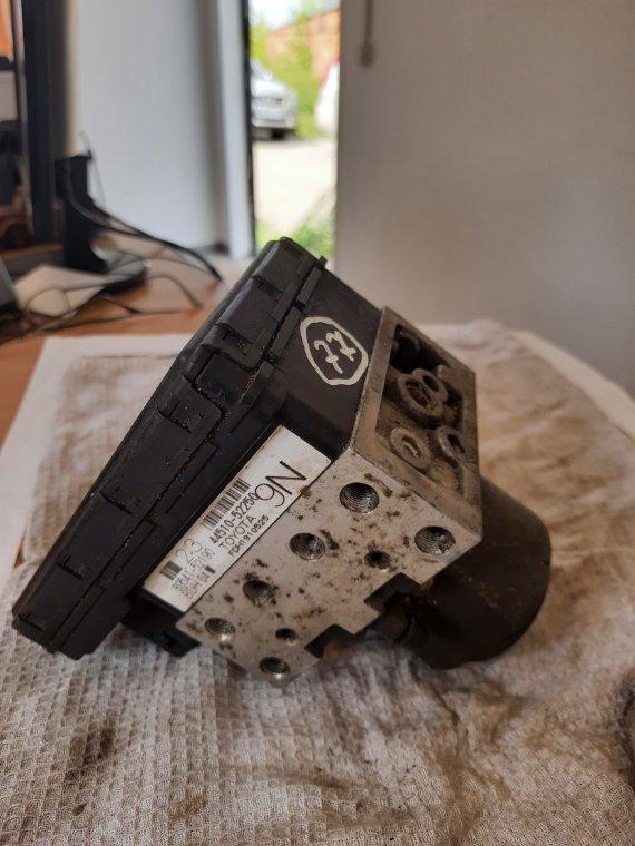 Блок управления abs Toyota Succeed NCP55 1NZFE