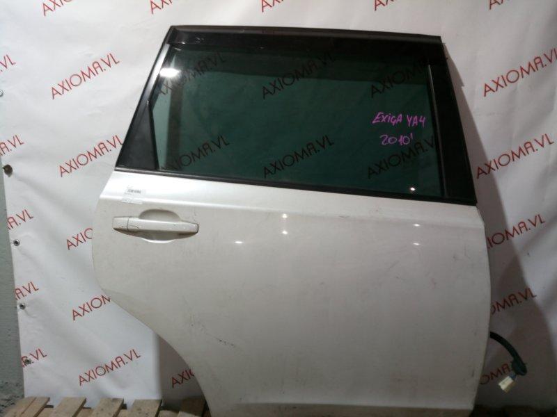 Дверь Subaru Exiga YA4 1996 задняя правая