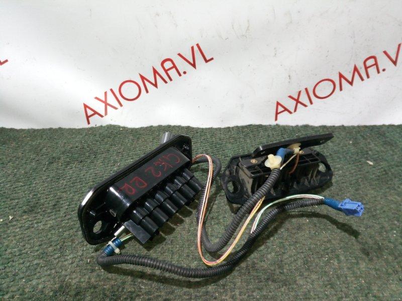 Электропривод двери Honda Mobilio Spike GK1 L15A задний правый