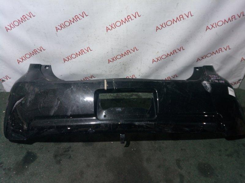 Бампер Toyota Spade NCP141 1NZ задний