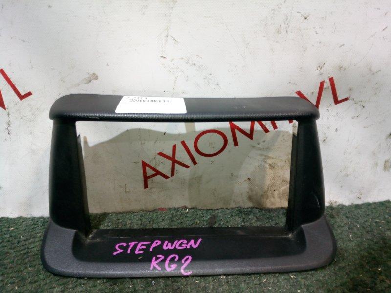 Консоль магнитофона Honda Stepwgn RG1 K20A 2005
