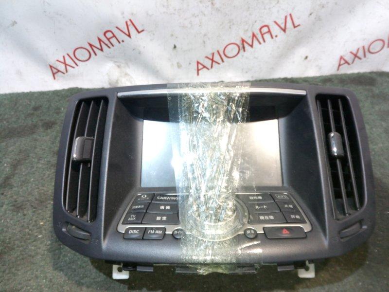 Монитор Nissan Skyline KV36 VQ37VHR 2010