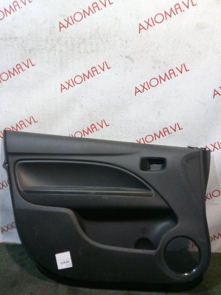 Обшивка дверей Mitsubishi Mirage A05A 3A90 2012 передняя левая