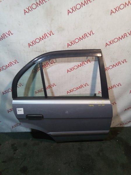 Дверь Toyota Corsa EL51 4E 1997 задняя правая