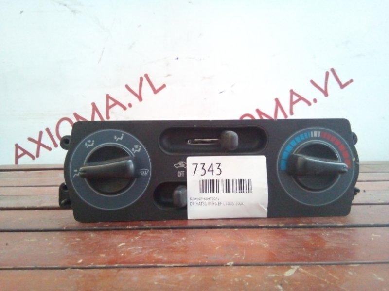 Климат-контроль Daihatsu Mira L700S EF 2000