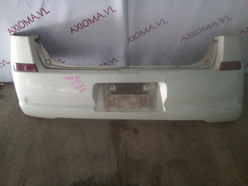 Бампер Daihatsu Mira L250 EFDET 2002 задний