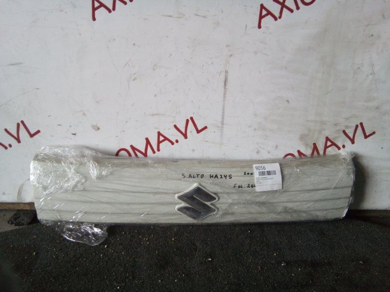 Решетка радиатора Suzuki Alto HA24S K6A 2007