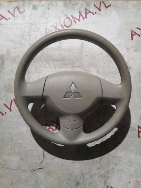 Руль с airbag Mitsubishi Ek Wagon H82W 3G83 2006